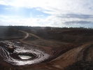 Construction of low level waste cell_3