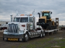 The western star and the stiger towed scraper